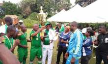 Première édition du ''Tournoi Vert'' : la Sodefor II enlève le trophée Sangaré Mamadou