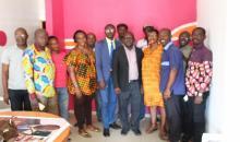 Côte d'Ivoire:le vice-président de l'Unjci,Lance Touré séduit par le nouveau siège de l'UPL-CI #pressenumerique