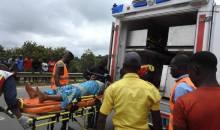 [Côte d'Ivoire Fête de l'Assomption] Sortie de route d'un car de transport non loin du corridor Gesco (info Gspm)