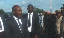 Bouaflé/Action sociale : le Ministre Diakité Sidiki apporte l'aide du gouvernement aux sinistrés