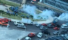 [Côte d'Ivoire Abidjan] Une manifestation de la police universitaire tourne à la violence au Plateau