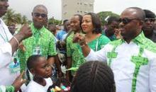 Reprise des municipales a Port Bouet, le candidat(PDCI) Emou Sylvestre appelle a la mobilisation