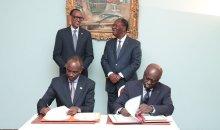 Coopération: 4 accords signés entre la Côte d'Ivoire et le Rwanda