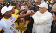 [Côte d'Ivoire Reprise des élections municipales à Lakota] Samy Merhy accueilli en fanfare par la population