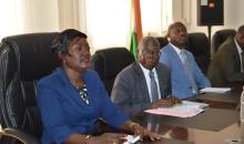 [Côte d'Ivoire Élections apaisées] Le NDI a présenté son programme ''Transition et Inclusion politique'' à la  ministre Mariatou Koné