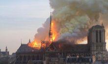 [France] La Cathédrale Notre Dame de Paris ravagée par des flammes