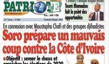 """[Affaire """"Soro prépare un mauvais coup contre la Côte d'Ivoire''] Le directeur de publication et un journaliste du quotidien """"le Patriote'' bientôt devant la justice"""