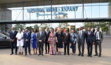 [Côte d'Ivoire Santé] La princesse Sarah Zeid de Jordanie visite l'hôpital mère-enfant de Bingerville