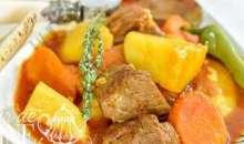 [Art culinaire/La recette du jour] Le ragoût d'agneau aux pommes de terre