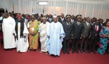 [Côte d'Ivoire/Région du N'zi] Alassane Ouattara s'entretient avec les Cadres, les Chefs Coutumiers et les Guides