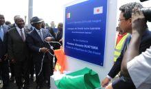 [Côte d'Ivoire/Infrastructures routières] Alassane Ouattara inaugure l'échangeur de la Solibra