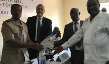 [Côte d'Ivoire/Korhogo] Les USA visitent le nouveau laboratoire de pathologie animale