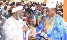 [Côte d'Ivoire/Religion] Le représentant du COSIM du Cavally intronisé