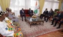 [Côte d'Ivoire] Une délégation du royaume Djuablin reçue en audience par le président Ouattara