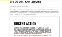 [État de santé du député Alain Lobognon] Amnesty Côte d'Ivoire interpelle le ministre ivoirien de la Justice