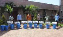 [Côte d'Ivoire/Lutte contre le Coronavirus] L'entreprise Groupement industrie distribution vient en aide à la commune de Port-Bouët