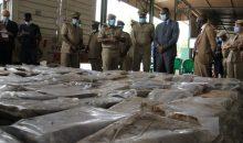 [Côte d'Ivoire] 5 tonnes de drogue d'une valeur d'environ 300 millions Fcfa saisies et présentées aux autorités