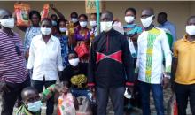 [Côte d'Ivoire/Covid-19] Le président Têh aux côtés de la jeunesse de Gloleu