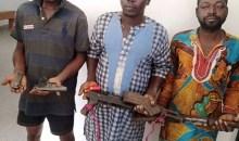 [Côte d'Ivoire/Guiglo] Des braqueurs arrêtés par les forces de sécurité, plusieurs armes et munitions saisies