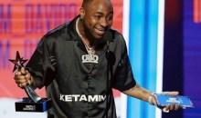 [SAMA 2020] Le chanteur nigérian Davido s'approprie le prix «Rest Of Africa»