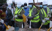[Côte d'Ivoire/Béoumi] Sidi Touré lance les travaux de bitumage de voiries de la ville