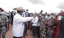 [Côte d'Ivoire/En visite d'Etat dans le Moronou] Alassane Ouattara communie avec les populations de M'Batto