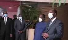 [Côte d'Ivoire/Crise postélectorale 2020] Au nom de la paix, Alassane Ouattara et Henri Konan Bédié se sont parlé