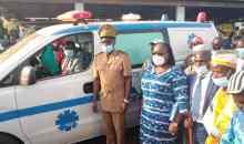 [Côte d'Ivoire/Santé] Bakoubly reçoit sa première ambulance médicalisée
