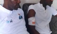 [Législatives 2021 à Yopougon] Le candidat DIA Houphouët Augustin Armand apporte son soutien à un militant PDCI agressé par des hommes armés