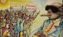 [Côte d'Ivoire/Législatives 2021] Quand les œuvres de l'artiste peintre Yapo Ayéa René fustigent la conduite de certains politiciens une fois élus