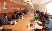 [Menace sécuritaire] Le Conseil National de Sécurité donne son accord pour l'acquisition, en urgence, de matériels et équipements pour renforcer les capacités des Forces de Défense et de Sécurité (communiqué)