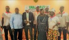 [Côte d'Ivoire/Medias] L'UNAJCOPCI procède à l'investiture de son nouveau délégué régional du Guemon