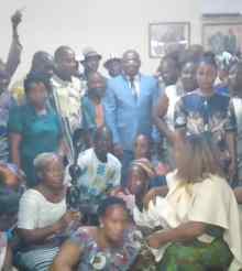 [Côte d'Ivoire] Serey Doh exhorte ses parents à ''choisir le chemin du développement''