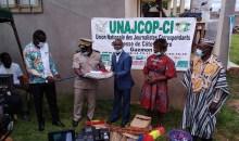 [Actions sociales] Les journalistes du Guemon font un important don au centre de santé de Gbapleu