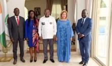 [Côte d'Ivoire] La Première Dame a reçu en audience le Secrétaire d'Etat Serey Doh