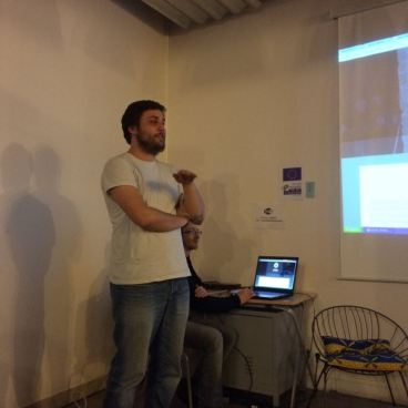 Bryan nous présente le site de son équipe