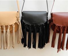 Theresa fringe side satchel