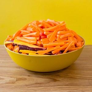 saladier de carottes