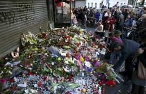 Hommage aux victimes attentats