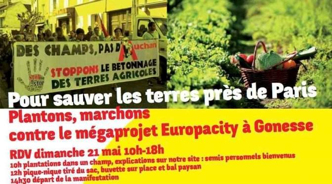 Non à Europacity !