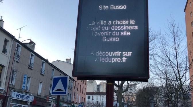 Busso : le projet a été choisi. Mais par qui ?
