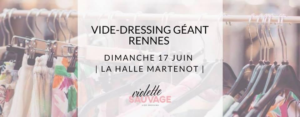 Le vide-dressing géant by Violette Sauvage débarque à Rennes !