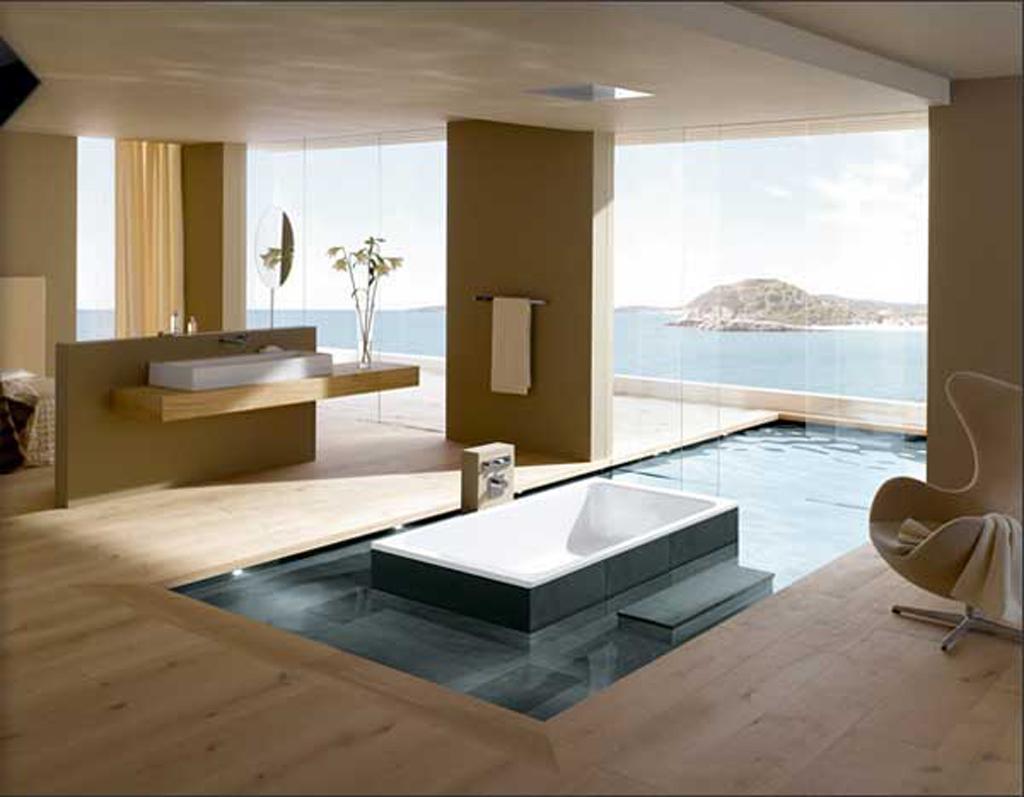 DIY Bathroom Flooring