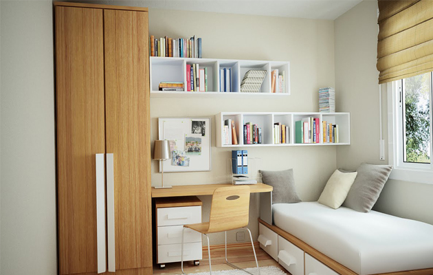 how to make the most use of a small living space