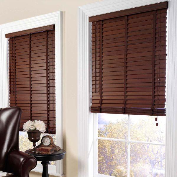 Wood Window Blinds