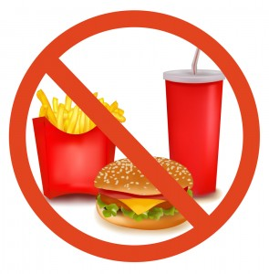 Do not Eat Junk Foods