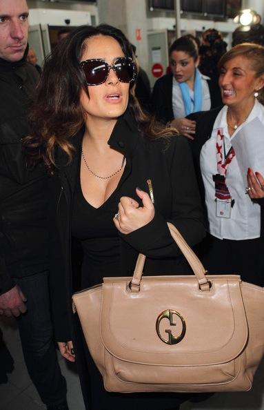 Salma Hayek handbags