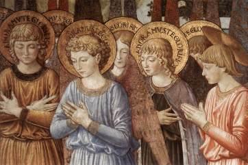 Benozzo_Gozzoli_-_Angels_in_Adoration_(detail)_-_WGA10282