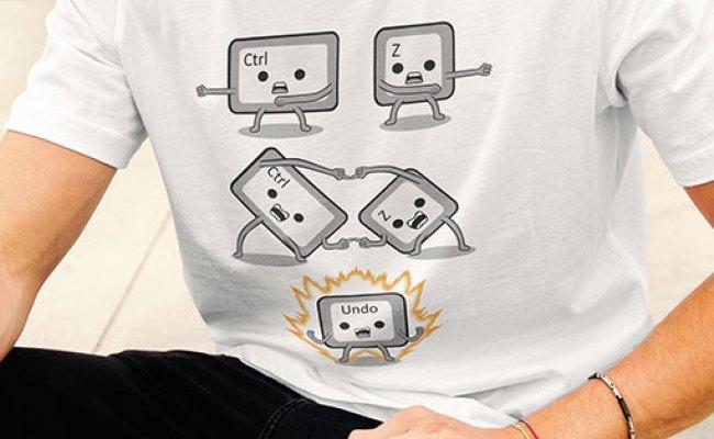 Ctrl Z Fussion Funny Geek T Shirt Lerage Shirts