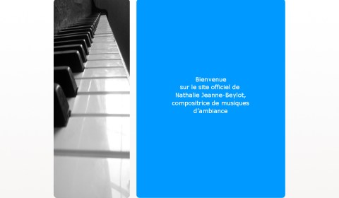 Webdesign - Nath JB - Artiste compositrice - 2012